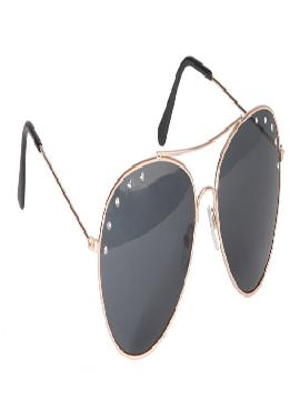 gafas de motero metales y montura cristal