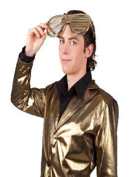 gafas doradas grandes 26 cm