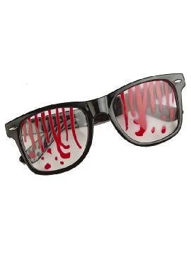 gafas ensangrentadas