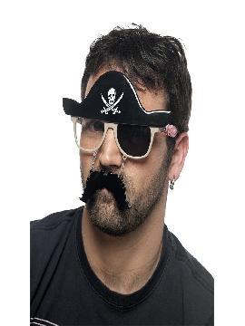 gafas pirata con parche divertidas