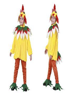 disfraz de gallina gallina para niñas. Este comodísimo traje es perfecto para carnavales, espectáculos, cumpleaños.Este disfraz es ideal para tus fiestas temáticas de disfraces de animales para niñas infantiles.