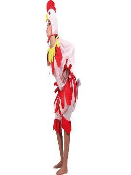 disfraz de gallina rosa para adulto para mujer. Este divertido y gracioso trajes de color blanco es perfecto para criar a los pollitos, sorprender en tus Fiestas de Disfraces o Carnaval.Este disfraz es ideal para tus fiestas temáticas de disfraces de animales para mujer adultos.