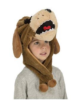 gorrito de perro marron infantil