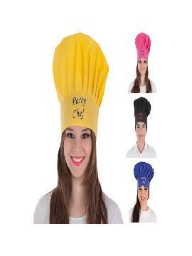 gorro de cocinero para adultos 4 colores