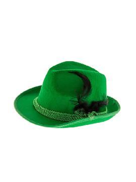 gorro de tiroles verde deluxe