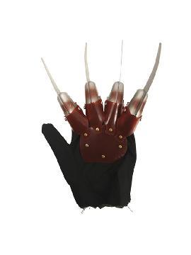 guante con cuchillos freddy para halloween