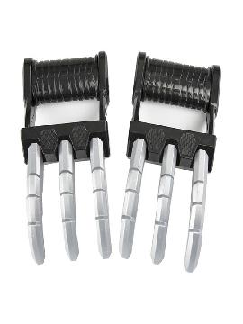 guantes con cuchillas ninja 17x25 cm tekagi shuko