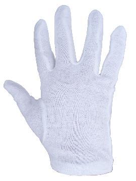guantes de algodon talla m 20 cm varios colores