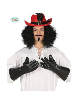 guantes de mosquetero simil cuero