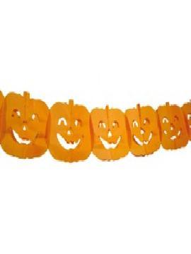 guirnalda calabazas 3 metros halloween