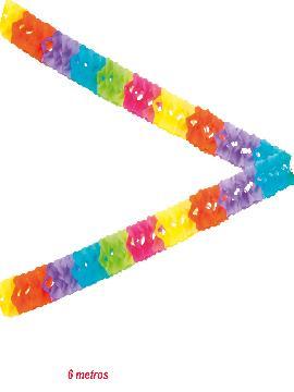 guirnaldas colores 6 metros para fiestas