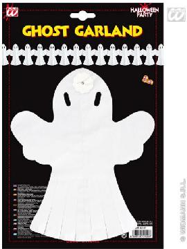 guirnalda fantasmas blancos 3 metros