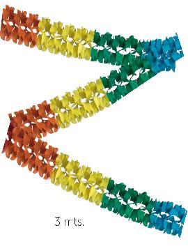 12 guirnaldas de mariposas 13x13 cm de 3 metros