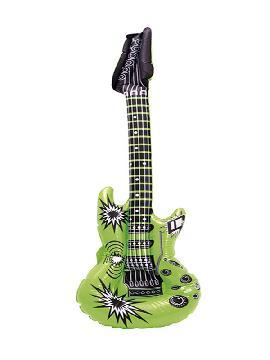 guitarra hinchable electrica de 80 cm colores surtidos