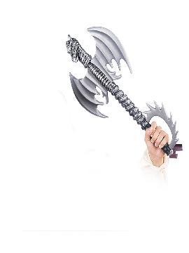 hacha medieval guerrero dragon