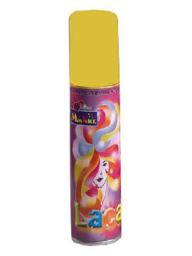 laca fluorescente 125ml amarilla para pelo