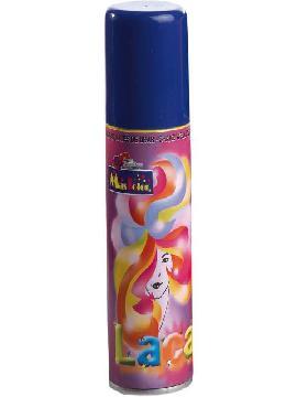 laca fluorescente 125ml azul para pelo