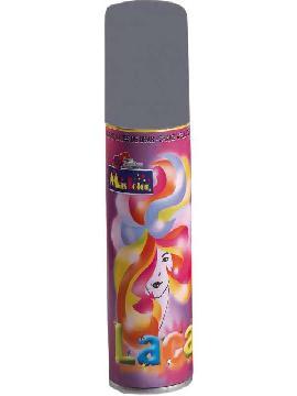laca fluorescente 125ml plata para pelo