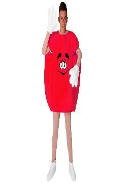 disfraz lacasito emanems rojo unisex