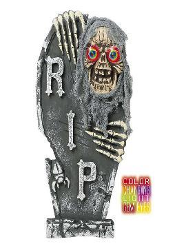 lapida esqueleto con ojos de color