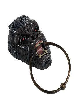 llamador puerta de demonio para halloween