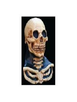 mascara de esqueleto medio cuerpo infantil