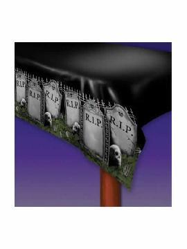 mantel de cementerio 274 x 137 cm