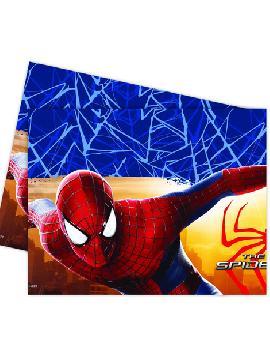 mantel de spiderman 120x180 cm para cumpleaños