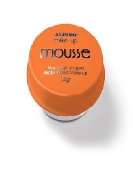 maquillaje mousse al agua naranja 14 gr