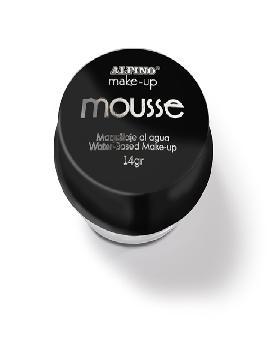 maquillaje 4 unidades mousse al agua negro 14 gr