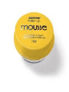 maquillaje 4 unidades mousse amarillo 14 gr