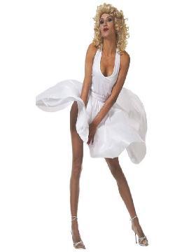 disfraz de marilyn monroe barato para mujer adulto