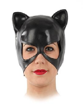 mascara catwoman latex negra
