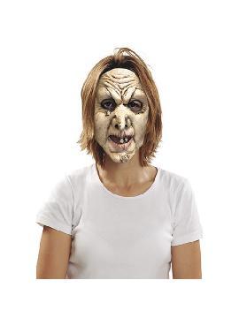 mascara de bruja con verruga