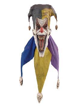mascara de bufon aterrador para adulto