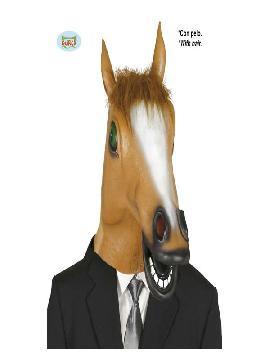 mascara de caballo con pelo adulto