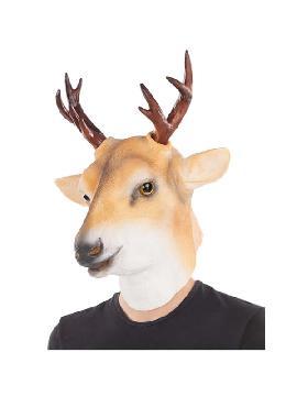 mascara de ciervo completa latex