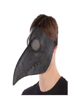 mascara de cuervo negro latex