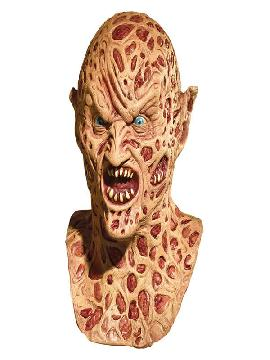 mascara de demon freddy krueger de latex adulto