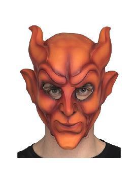mascara de demonio fuego