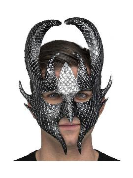 mascara de dios guerrero nordico plata