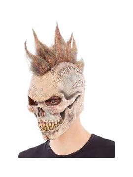 mascara de esqueleto punky latex