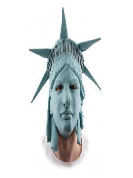 mascara de estatua de la libertad adulto
