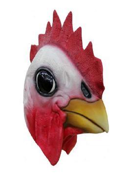 mascara de gallo para adulto