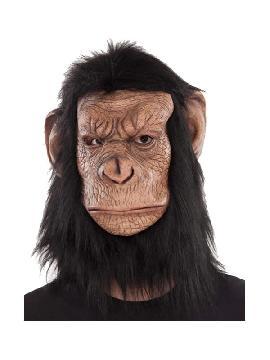 mascara de gorila completa latex