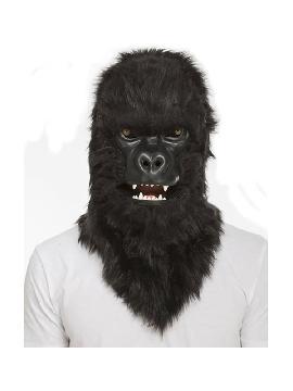 mascara de gorila con mandibula movil