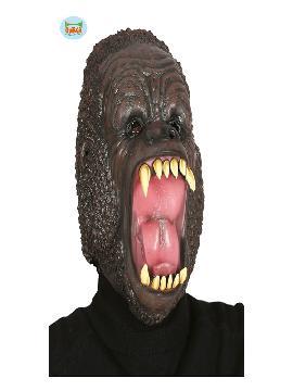 mascara de gorila latex para adulto
