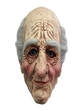 mascara de gran abuelo entrañable adulto