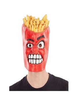 mascara de latex caja patatas fritas completa