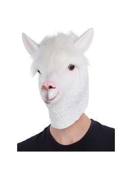 mascara de llama completa latex